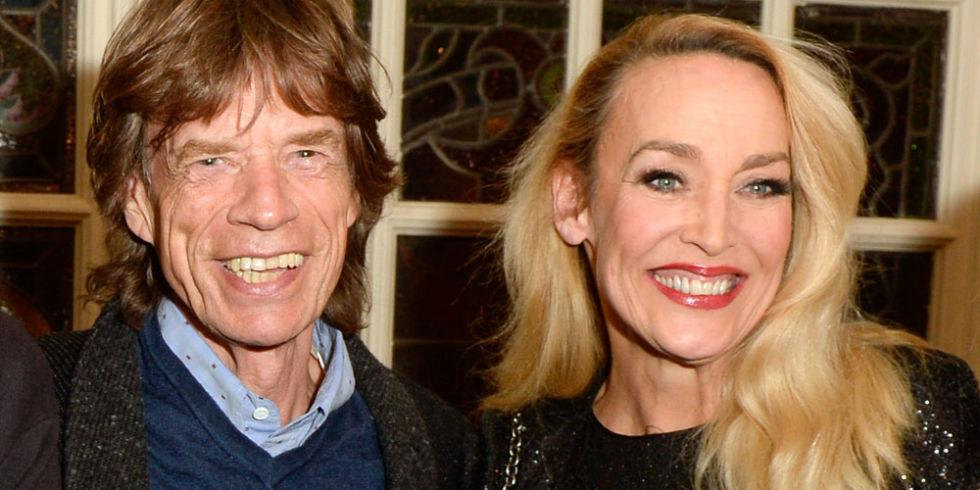 JERRY HALL & MICK JAGGER