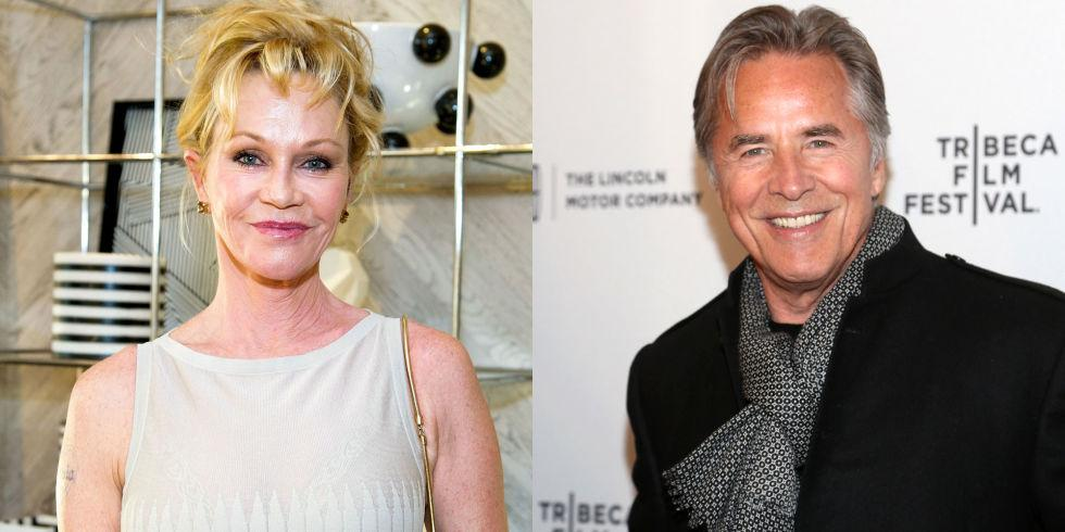 MELANIE GRIFFITH & DON JOHNSON