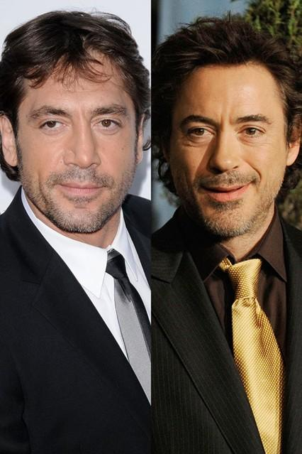 Jarvier Bardem in Robert Downey Jr
