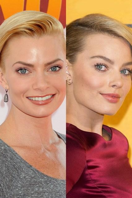 Margot Robbie in Jaime Pressly